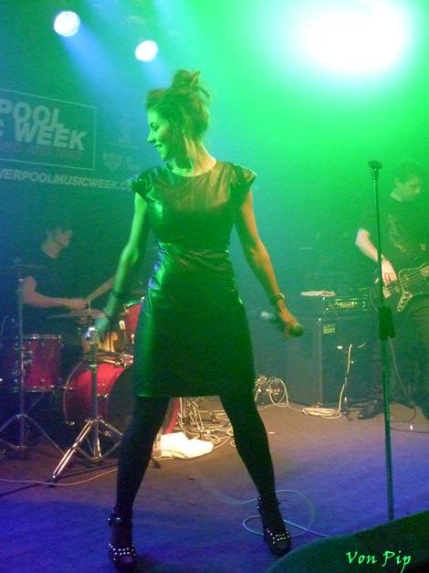 Marina on stage