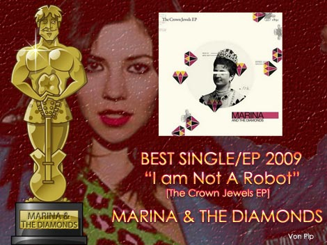 Single Of The Year -Marina And The Diamonds