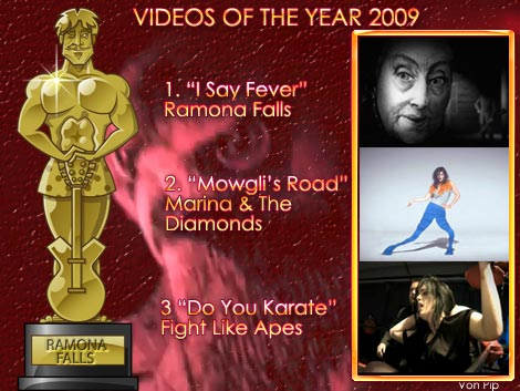 Videos Of The Year 2009