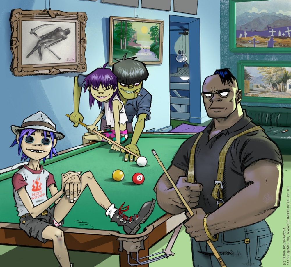 Gorillaz  are back
