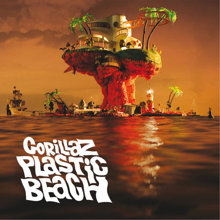 Gorillaz Platic Beach Album Cover