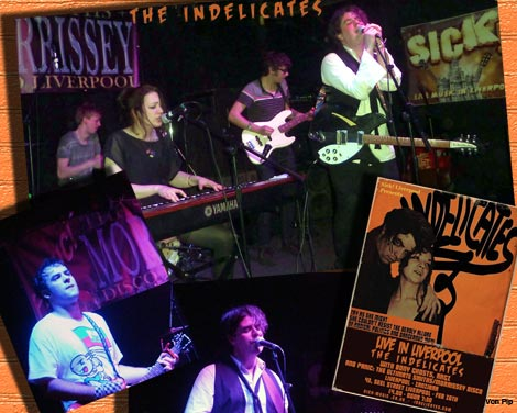The Indelicates live @ Sick Liverpool