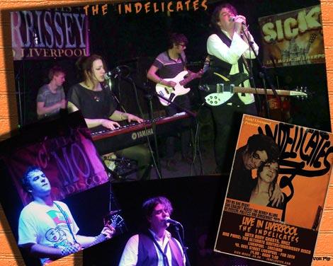 The Indelicates live @ Sick Liverpool