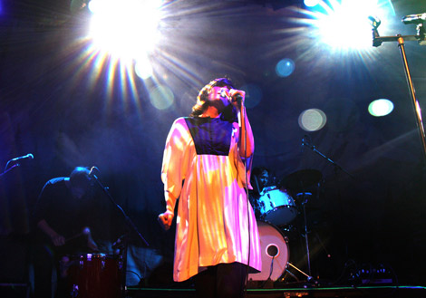 Sarah Blasko Live-Photo by Catshoe