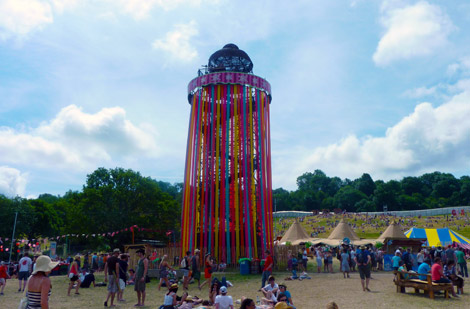 Glastonbury Ribbon Tower