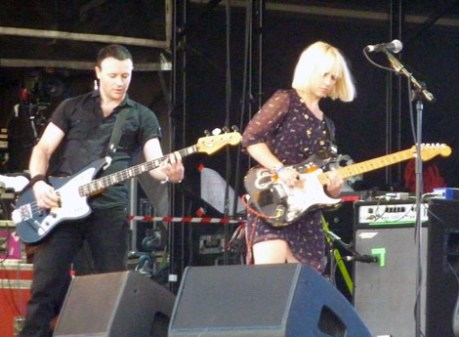The Joy Formidable-Glastonbury 2010