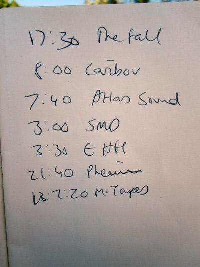 DIY Programmes, Field Day 2010