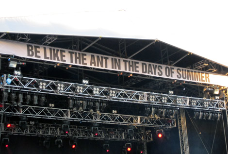 """Be like the Ant in the Days of Summer"""