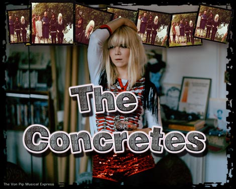The Concretes- Lisa Millberg Interview-WYWH 2010