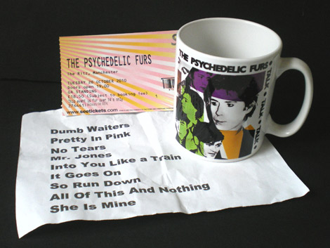 The Psychedelic Furs-Furry Cup