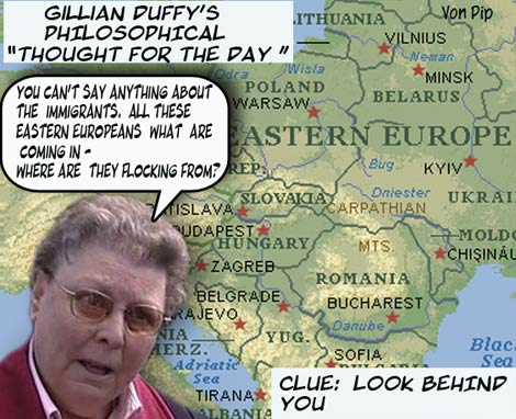 Gillian Duffy And Gordon Brown Von Pip