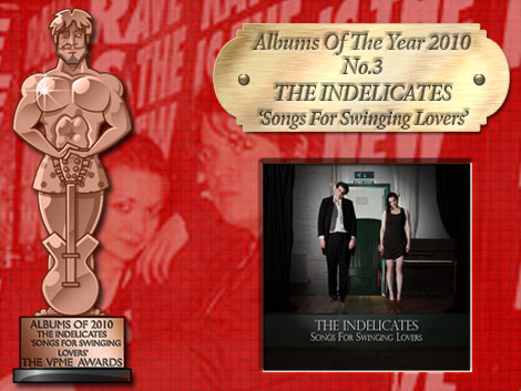 The VPME Albums Of The Year - The Indelicates - Songs For Swinging Lovers