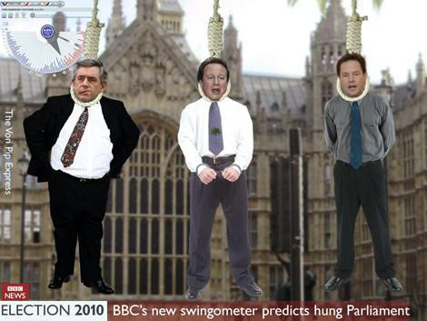 UK election Hung Parliament 2010