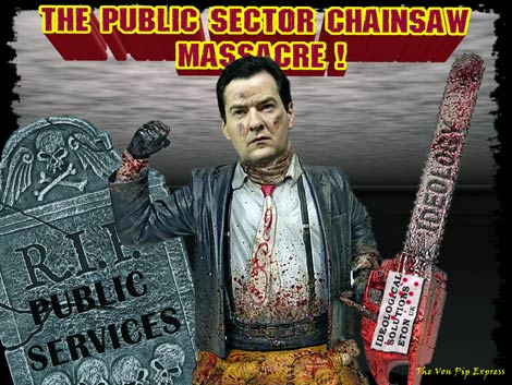 George Osborne- Public Sector Massacre -THE VPME