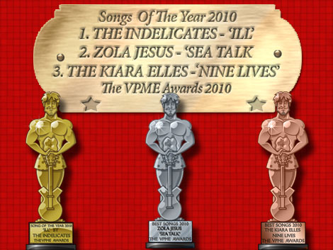 The VPME - Songs Of The Year 2010
