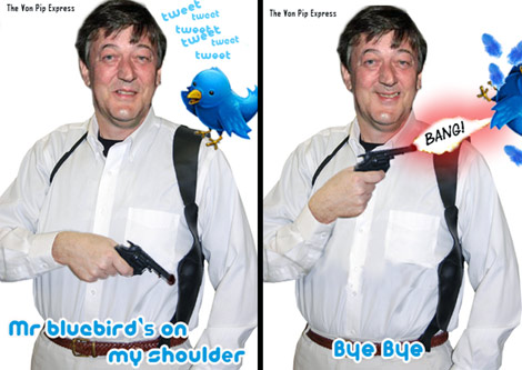 Stephen Fry Quits Twitter?