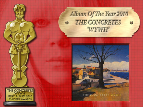 VPME - Album Of The Year- The Concretes WYWH