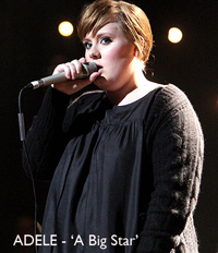 Adele Huge in 2009