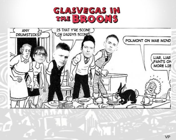 Glasvegas in 'The Broons. The VPME