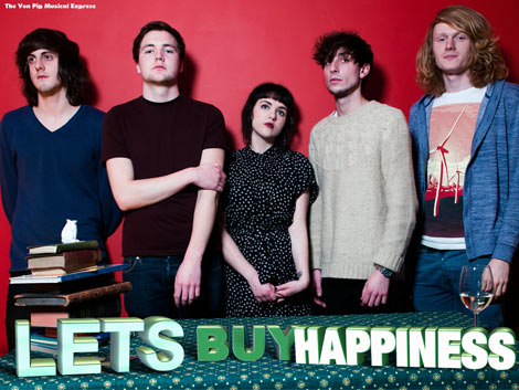 Lets Buy Happiness Interview on The Von Pip Musical Express
