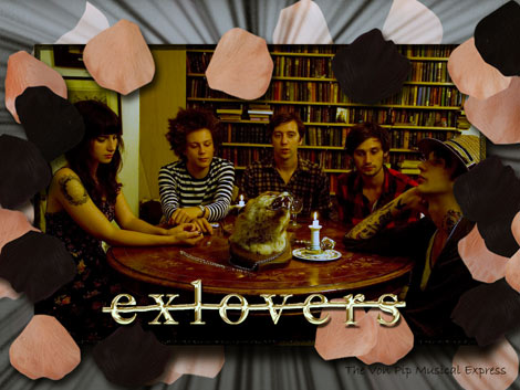 ExLovers interview on The Von Pip Musical Express 2011