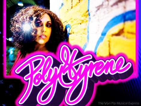Poly Styrene  Interview 2011 the Von Pip Musical Express