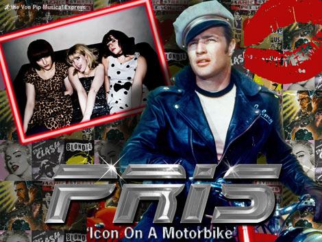 PRIS - Icon On A Motorbike - The Von Pip Musical Express