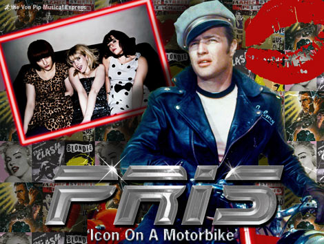 PRIS - Icon On A Motorbike - The Von Pip Musical Express