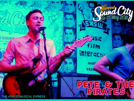 Pete And The Pirates Live @ Liverpool Sound City