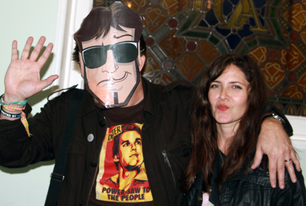 Sarabeth Tucek and VP