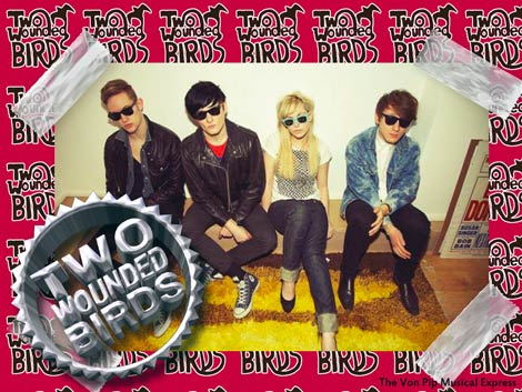 Two Wounded Birds Interview 2011- The Von Pip Musical Express