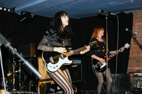 Dum Dum Girls Live  -Photo - Andy Von Pip - Fac251 Manchester