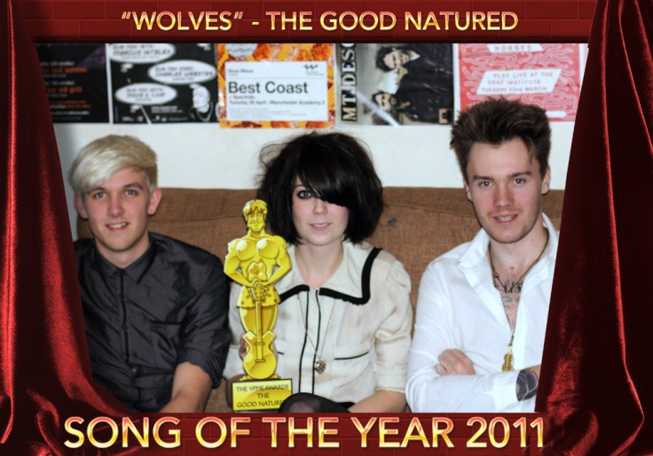 The VPME SONG OF THE YEAR 2011 The Good Natured - Wolves